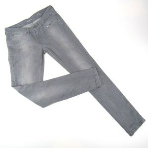 Levis Jeans Skinny Slim Slight Curve Womens Grey